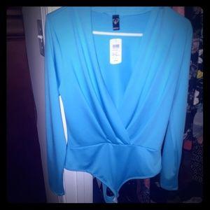Aqua bodysuit